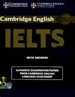 Cambridge IELTS 10 cho người học Ielts