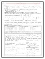 Giáo án vật lý 12 học kì 1 tiết  8