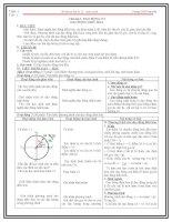 Giáo án vật lý 12 học kì 1 tiết 1