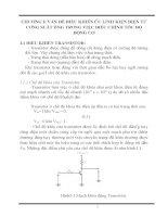 CÁC ỨNG DỤNG của điện tử CÔNG SUẤT TRONG hệ THỐNG điều CHỈNH tốc độ ĐỘNG cơ KHÔNG ĐỒNG bộ 3 PHA