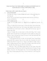 BÁO cáo THỰC tập TỔNG hợp tại CÔNG TY cổ PHẦN đầu tư KINH DOANH và PHÁT TRIỂN RỒNG VIỆT