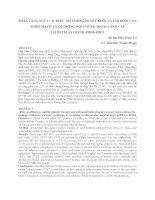 PHÂN TẦNG NGUY CƠ, ĐIỀU TRỊ CHỐNG HUYẾT KHỐI VÀ CHỈ ĐỊNH CAN THIỆP MẠCH VÀNH TRONG HỘI CHỨNG MẠCH VÀNH CẤP TẠI BVTM AN GIANG 4/2010-4/2011