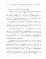 ĐÁNH GIÁ CÔNG TÁC PHÁT TRIỂN MẠNG LƯỚI CÁC KHU BẢO TỒN BIỂN TẠI VIỆT NAM TRONG THỜI GIAN QUA