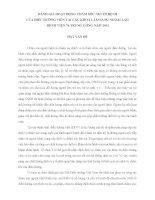 ĐÁNH GIÁ HOẠT ĐỘNG CHĂM SÓC NGƯỜI BỆNH CỦA ĐIỀU DƯỠNG TẠI BỆNH VIỆN 74 TRUNG ƯƠNG, NĂM 2013