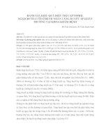 ĐÁNH GIÁ HIỆU QUẢ ĐIỀU TRỊ CAPTOPRIL NGẬM DƯỚI LƯỠI Ở BỆNH NHÂN TĂNG HUYẾT ÁP KHẨN TRƯƠNG TẠI KHOA KHÁM BỆNH
