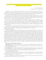 THỰC TRẠNG ĐỘI MŨ BẢO HIỂM CỦA NGƢỜI THAM GIA GIAO THÔNG BẰNG XE MÁY TẠI TỈNH THÁNG NĂM 2013