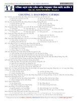 tổng hợp các câu hỏi trọng tâm mức điểm 7 ôn thi môn vật lý đặng việt hùng