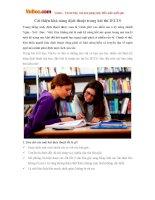 Cải thiện khả năng dịch thuật trong bài thi IELTS