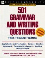 501 grammar and writing 3e (làm thế nào để viết Tiếng Anh hay và đúng ngữ pháp )