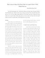 Thực trạng sử dụng sách tiếng Chăm của người Chăm ở Ninh Thuận hiện nay