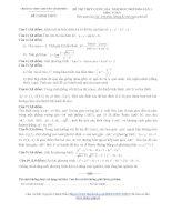 40 đề thi thử thpt quốc gia môn toán năm 2016 có đáp án