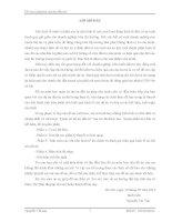 ĐỒ ÁN QUẢN TRỊ DỰ ÁN ĐẦU TƯ (CÔ THÁI)  ĐẠI HỌC MỎ ĐỊA CHẤT
