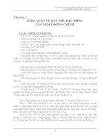Đề án bảo vệ môi trường Nhà máy sản xuất cơm dừa nạo sấy