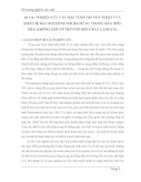 NGHIÊN CỨU CÁC ĐẶC TÍNH TRUYỀN NHIỆT CỦA THIẾT BỊ BAY HƠI KÊNH MICRO DÙNG TRONG MÁY ĐIỀU HOÀ KHÔNG KHÍ CỠ NHỎ VỚI MÔI CHẤT LẠNH CO2