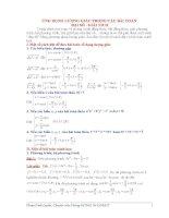 Ứng dụng lượng giác trong giải các bài toán đại số giải tích