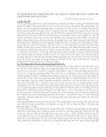 SỬ DỤNG PHƯƠNG PHÁP ĐỘ TIN CẬY TRONG THIẾT KẾ CÔNG TRÌNH ĐÊ CHẮN SÓNG BẢO VỆ CẢNG