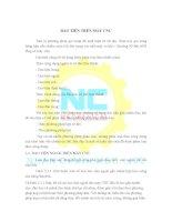 Bài Giảng Dao Tiện Trên Máy CNC