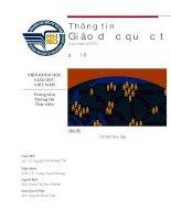 Thông tin giáo dục quốc tế số 10 : xã hội học tập