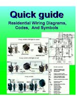 Quick guide residential wiring diagrams,codes and symbols