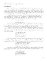 Phân tích bài thơ sóng của xuân quỳnh  (theo từng đoạn)
