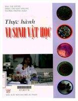Thực hành vi sinh vật học, NXB đại học sư phạm