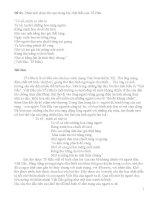 Phân tích bài thơ việt bắc của tố hữu (theo từng đoạn)