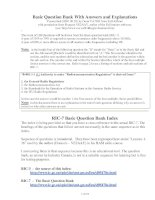 Electrical basic question bank with answer and explanations