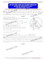 100 bài toán OXY chọn lọc