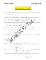 Những phương pháp ép tích đơn giản (v1)