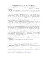 NGHIÊN CỨU CÁC YẾU TỐ TIÊN LƯỢNG TRÊN BỆNH NHÂN NHỒI MÁU NÃO CÓ RUNG NHĨ