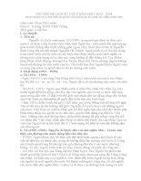 CHUYÊN đề bồi DƯỠNG học SINH GIỎI môn LỊCH sử lớp 9