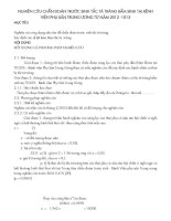 NGHIÊN CỨU CHẨN ĐOÁN TRƯỚC SINH TẮC TÁ TRÀNG BẨM SINH TẠI BỆNHVIỆN PHỤ SẢN TRUNG ƯƠNG TỪ NĂM 2012 -1013