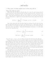 Tóm tắt Luận án Phép biến đổi tích phân kiểu tích chập suy rộng Hartley và ứng dụng