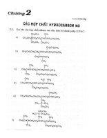 Bài tập hay của thầy Phan Thanh SƠn Nam cho sinh viên đại học, hóa đại cương