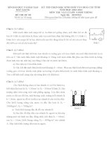 Đề thi học sinh giỏi môn vật lý 9 tỉnh bắc giang năm học 2012   2013(có đáp án)
