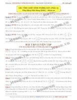 Các tính chất hình phẳng OXY phần 4