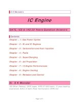 IC engine IES GATE IAS 20 years question and answers