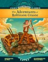 tác phẩm văn học của nhà văn Daniel defoe  tác phẩm the adventures of robinson crusoe