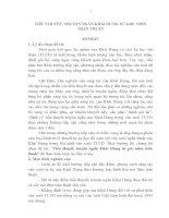 Tiểu thuyết, truyện ngắn Khái Hưng từ góc nhìn trần thuật