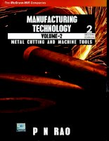 Manufacturing technology volume 2