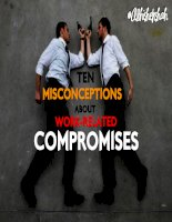 Ten misconceptions about work related compromises