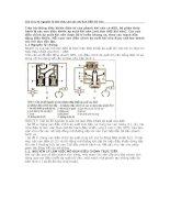 Cấu trúc và nguyên lý làm việc của các mô đun ABS khí nén