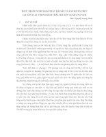 THỰC TRẠNG NGHỀ KHAI THÁC HẢI SẢN VÀ VẤN ĐỀ TỔ CHỨC LẠI SẢN XUẤT TRONG KHAI THÁC HẢI SẢN TẠI QUẢNG NAM