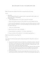 Đề cương môn từ vựng ngữ nghĩa Tiếng Việt