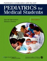 Pediatrics for medical students d bernstein, s shelov 3rd edition, LWW 2012