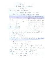 Bài tập và bài giải lý thuyết dẻo và phương pháp phần tử hữu hạn
