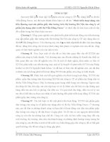 Phát triển hoạt động xúc tiến thương mại sản phẩm giấy dán tường trên thị trường Hà Nội của công ty cổ phần xây dựng nhà và đô thị Viễn Đông Facco