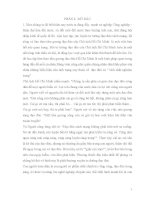 THỰC TRẠNG CỦA VIỆC GIÁO DỤC TƯ TƯỞNG ĐẠO ĐỨC HỒ CHÍ MINH CHO HỌC SINH TRONG TRƯỜNG THPT NAM TRỰC