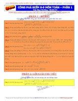 Đề thi thử THPT quốc gia môn toán thầy Đặng Việt Hùng