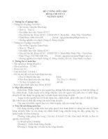 ĐỂ CưƠNG MÔN HỌC BÓNG CHUYỀN 2 NGÀNH: GDTC